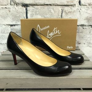 4422cfd5c43 Christian Louboutin Simple Pumps 70mm Round Toe